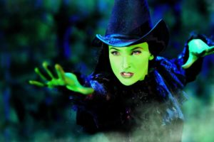 elphaba witch wicked as featured in KidRated's 50 great things to do in london with teenagers