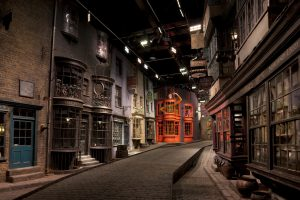 Diagon Alley at the Harry Potter Experience, an official K-Rated attraction © Warner Bros. Kidrated London's Harry Potter Guide