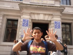 one of our kids rates the science museum london as featured in Kidrated's 50 great things to do with teenagers in London