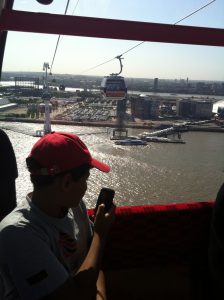Emirates Air Line Greenwich KidRated London reviews kids family Top 10 Things To Do On The River Thames Kidrated