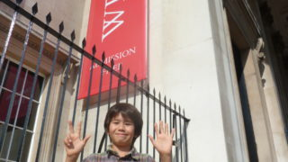 boy reviews the national gallery trafalgar square london