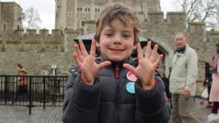 boy k-rates the tower of london