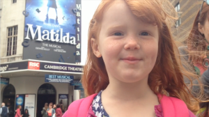 Cambridge Theatre Matilda Musical Roald Dahl Tim Minchin KidRated Westend London reviews by kids family Kidrated Top 5 West End Shows Review Guide
