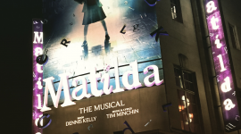 Cambridge Theatre Matilda Musical Roald Dahl Tim Minchin KidRated Westend London reviews by kids family
