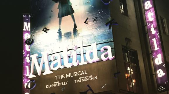 Cambridge Theatre Matilda Musical Roald Dahl Tim Minchin KidRated Westend London reviews by kids family