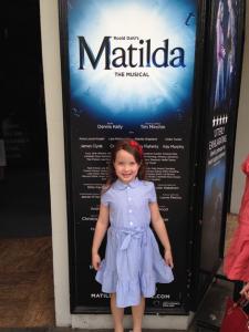 Matilda the Musical London Cambridge Theatre Roald Dahl Tim Minchin Kidrated