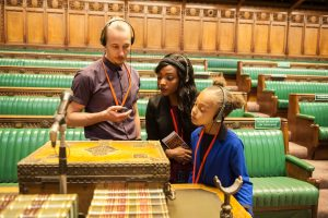 Commons Chamber - Courtesy of Houses of Parliament London KidRated Top 10 Places For Kids In London Kidrated