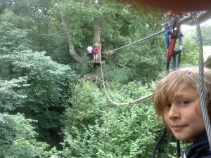 Go Ape Trent Park reviews and family offers as featured in KidRated's 50 great things to do in london with teenagers