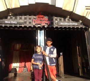 The London Dungeons K-Rated by Elliot & Fin Kidrated Top 5 Things in London For Revolting Kids