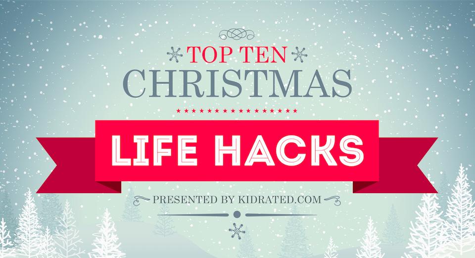 christmas life hacks christmas hacks