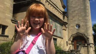 girl reviews the horniman museum and gardens