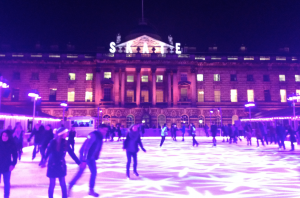 Skate at Somerset House Kidrated 15 Things To Do In London At Christmas