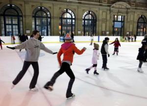 alexandra palace ice rink Christmas London Walks Kidrated