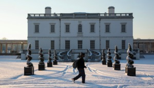 Kidrated's 15 THINGS TO DO AT CHRISTMAS IN LONDON Queen's House Ice Rink in Greenwich