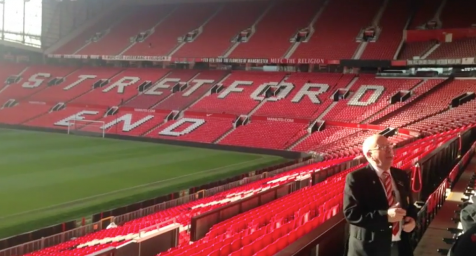 Manchester United S Old Trafford Stadium Tour Reviews And Family Deals