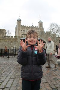 Oscar gives the Tower of London a K-Rating of 10/10 Top 10 Places For Kids In London Kidrated