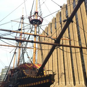 Golden Hinde, London, KidRated, Attraction, Reviews by kids Shakespeare's London Kidrated Guide
