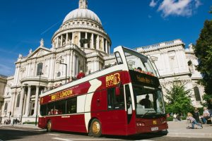 big Bus St Paul's Kidrated London 5 Day Itenarary