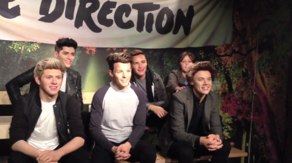One Direction at Madame tussauds
