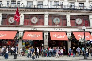 hamley's Toy shop Kidrated Emily Weekend Itinerary