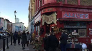 shops on Portobello Road