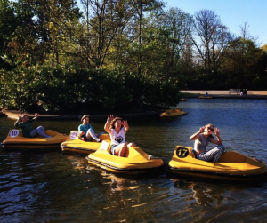 Regent's Park London Pedalo Kidrated 100 quirky things to do in london