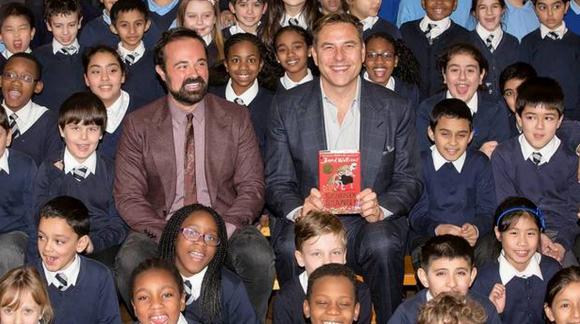 David Walliams Get London Reading