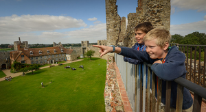 Framlingham Castle Suffolk Kidrated 10 Family Days At Britains Castles