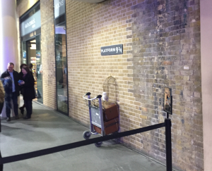 Platform 9 3/4 Harry Potter Kings Cross Emily's one day itinerary Kidrated