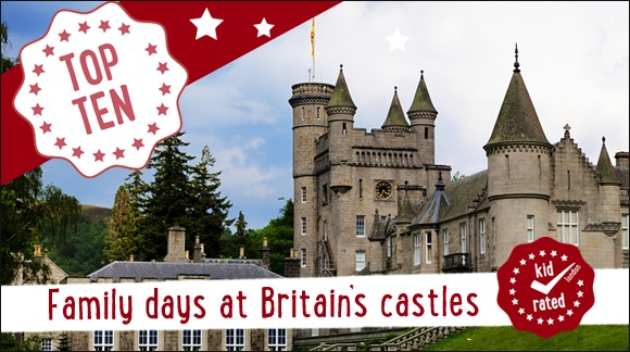 Top Ten Family Days at British Castles
