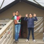 Port Lympne Reserve & the Bear Lodge safari tent get 9 & 10 from Dylan and Lara