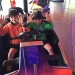 Danny & Leo give Battersea Fun fair full marks