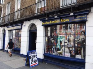 Beatles Store as featured in 50 things for teenagers to do in London