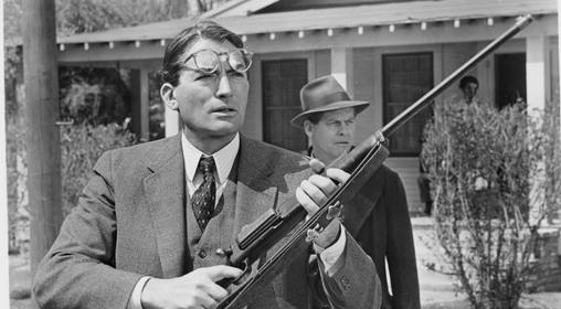 To Kill A Mockingbird Quiz - - Gun