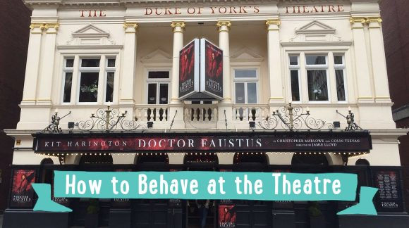 how to behave at the theatre