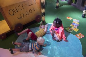 Discover Children's story centre Kidrated Toddler Baby Friendly
