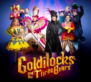 the magical Goldilocks and the Three Bears come to the West End for Christmas and is one of KidRated's Top 5 pantomime picks