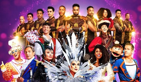 Pantoland at the Palladium, which features Julian Clary, Elaine Paige, Gary Wilmot and Paul Zerdin