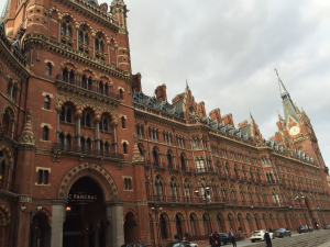 St Pancras Harry Potter London Kidrated Guide