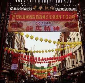 Chinese New Year Chinatown as featured in 50 things for teenagers to do in London