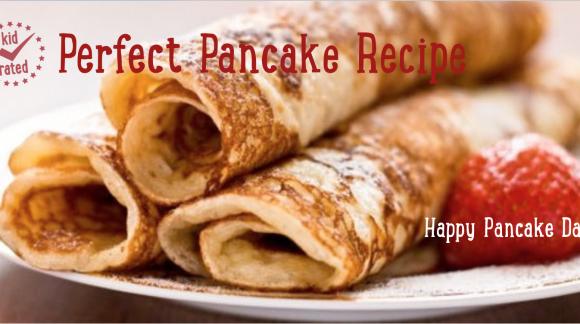 Pancake Recipe slider