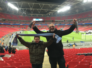 Football Blog Man City Wembley as featured in 50 things for teenagers to do in London