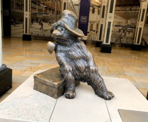 Paddington Bear Statue Station Kidrated London