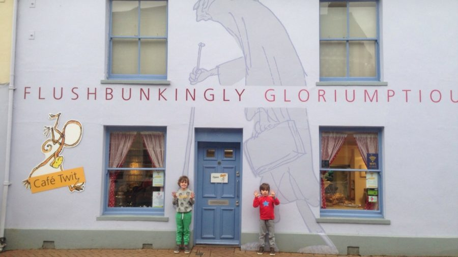 kids review the roald dahl museum just outside london family attraction