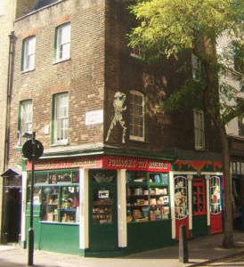 Pollock's Toy Shop Kidrated 100 quirky things to do in london