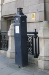 Police Call Box Kidrated 100 quirky things to do in london