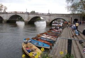 Row in Richmond Thames Kidrated 100 quirky things to do in london
