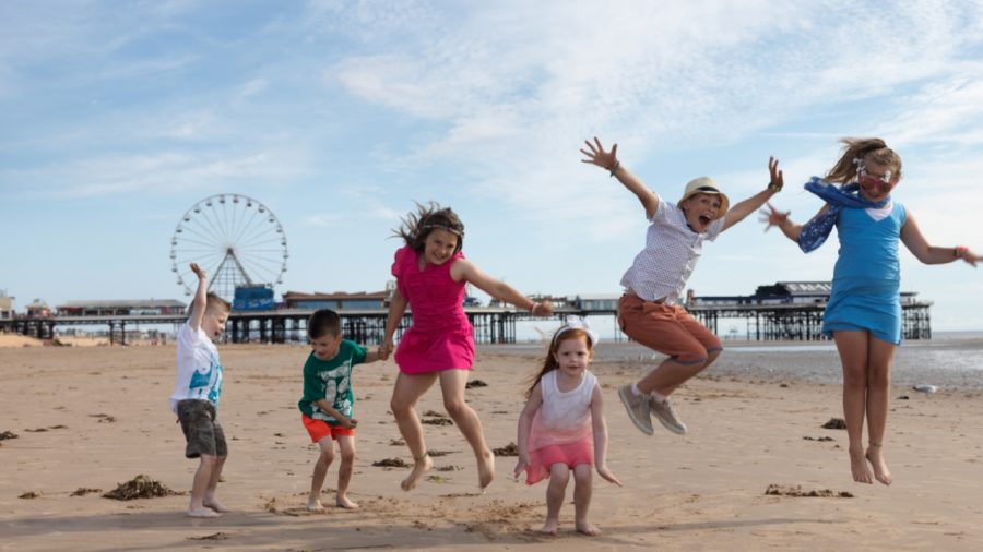 toddler friendly blackpool