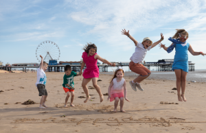 blackpool beach kidrated toddler friendly things to do