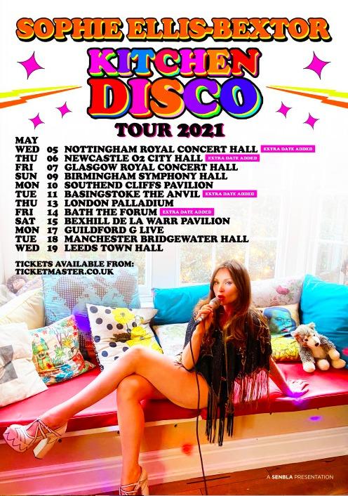 Sophie Ellis Bextor Tour Dates 2021